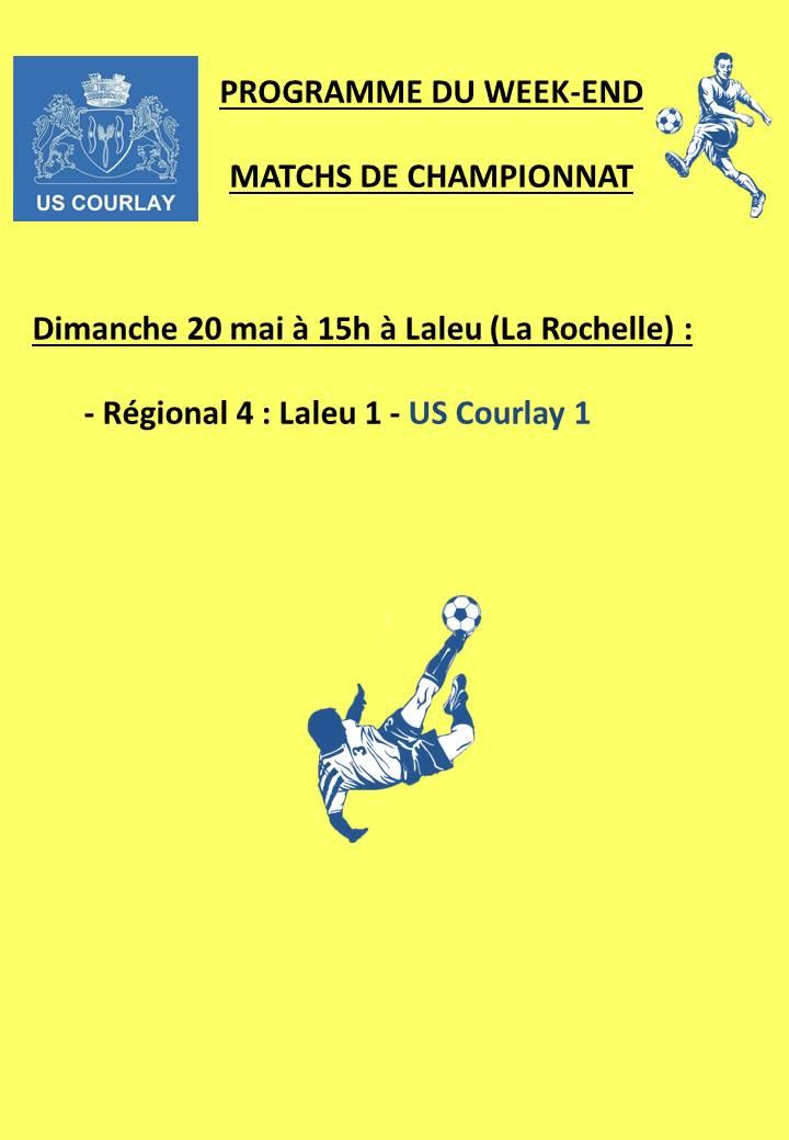 2018_05_17 Matchs_au_programme_du_week_end