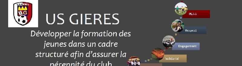 US GIERES : site officiel du club de foot de GIERES - footeo