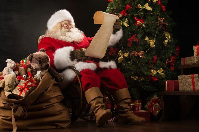 La venue du Pere Noel