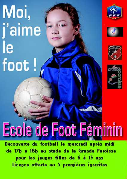 ECOLE DE FOOT FEMININE