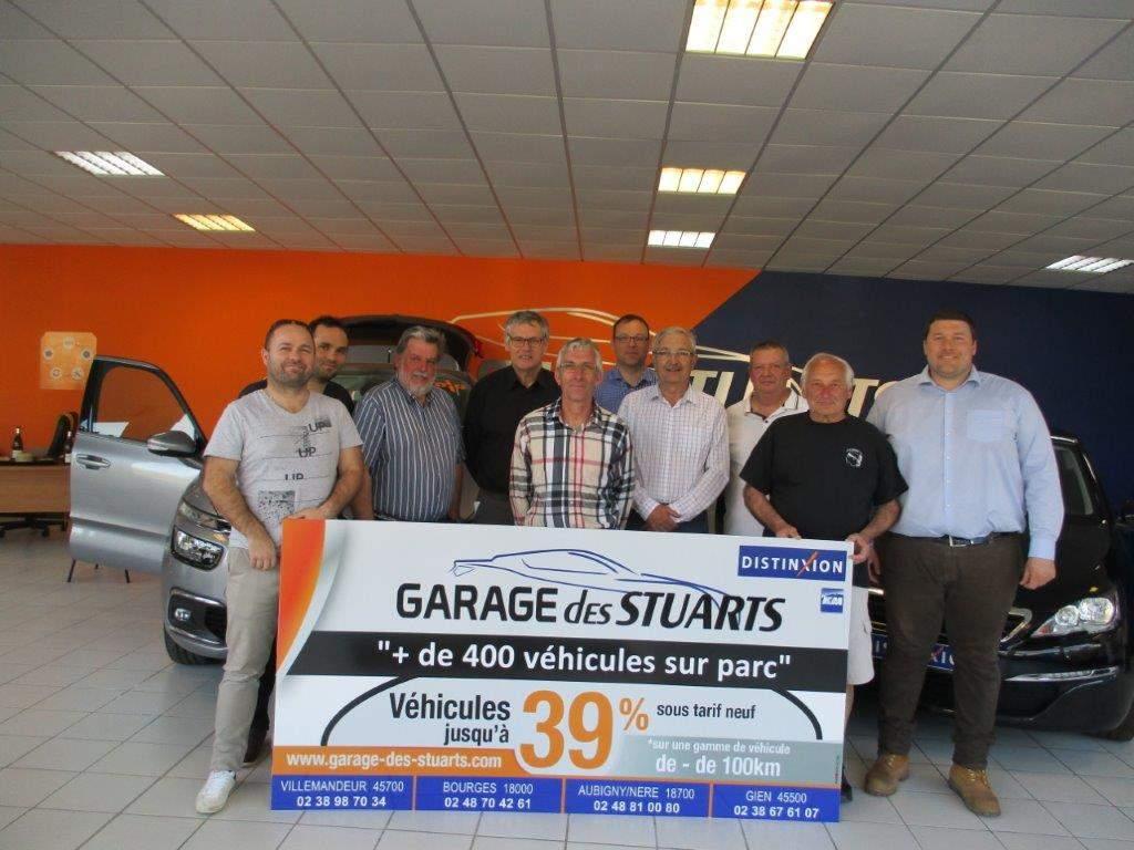 Actualité - Partenariat avec le Garage des Stuarts à Gien - club ...