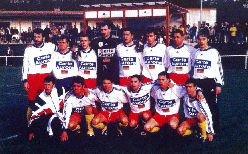 Le groupe toucycois lors du match du 6ème tour de Coupe de France face à Mâcon