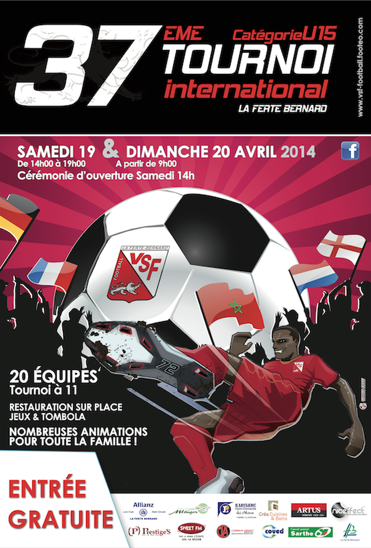 37 ème TOURNOI INTERNATIONAL