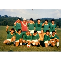 La première équipe de l'U.S.L. en 1971