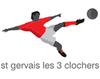logo du club St Gervais les 3 clochers