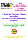Rendez-vous le 8 décembre ! - FC des Villages