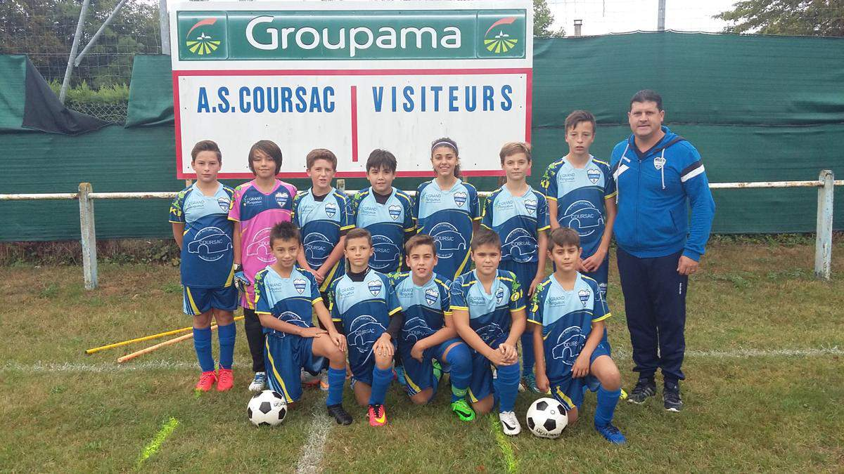 U12/U13 - Entente C.O.C.Chamiers - Coursac