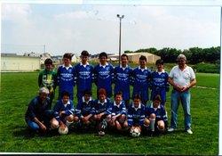 les  -15ans vainqueurs de la coupe Pierre Philippe  - amicale sportive de saint-yvi