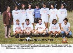 SAISON 1977-78 - AMICALE SPORTIVE TREMEVENOISE