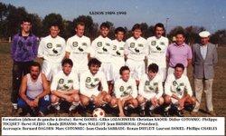 SAISON 1989-1990 EQUIPE A - AMICALE SPORTIVE TREMEVENOISE