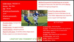 L'instant Kro-Finement n°10 - Football Club de BIARD