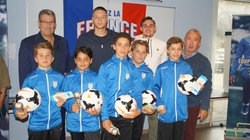 5 Joueurs U13  récompensés au Fair Play 2017/2018 - AS Esvres