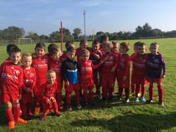Le groupe U6 U7 à Ste Reine - ASG Football - Amis Sportifs Guillaumois