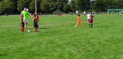 Reprise entraînements jeunes U7 U9 U11 U13 (Photos T Bourisville) - ASL PORTUGAIS DE ROANNE