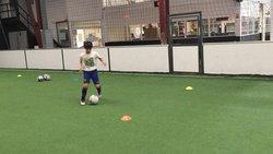 JULES BESOMBES - ASPTG ÉLITE FOOTBALL - FIVE PERPIGNAN - 18.10.2018 - ASSOCIATION SPORTIVE DE PRO-TRAINING GAMES
