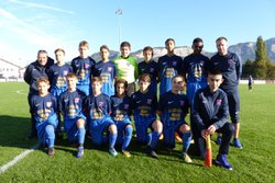 Match compliqué ce week-end pour les U15 mais ils conservent la tête du classement - Club Sportif de Saint-Pierre