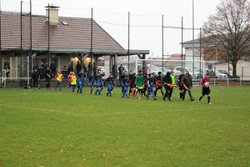 Les U15 fêtent la première partie de saison après une dernière victoire... - Club Sportif de Saint-Pierre