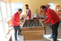 Au club house..avant match! - C.A. BRIGNACOIS