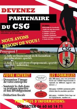 Devenez partenaire du GCG !