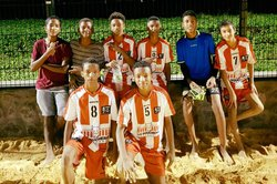 Vainqueur Tournoi Beach Soccer Mairie St Paul 2017 U13 - U15 - Ecole de Foot Saint Gilles