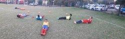 Un mercredi soir avec les gardiens U10 à U17 du club. - Ecole de Foot Saint Gilles