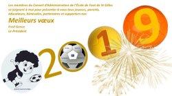 Bonne Année - Ecole de Foot Saint Gilles