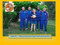 Ecole de Gardiens Jean-Yves CADIOU : NOUVEAUX SURVÊTEMENTS POUR LES EDUCATEURS