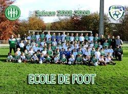 Photos de l'école de Foot