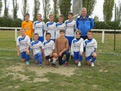 Match U13 ESMC1 contre CAHAGNES - Entente Sportive Municipale Condéenne