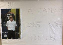 Nos U15 rendent hommage à notre cher José