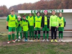 Pouilloux – Les jeunes footballeurs se mettent « au jaune »