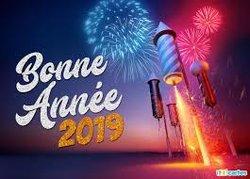 bonne et heureuse annee 2019