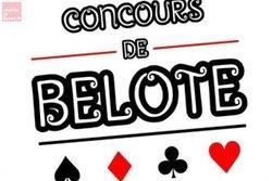 concours de belote samedi 19 janvier 2019