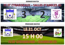 MATCH - Football Club St-Cybardeaux