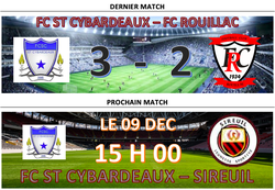RESULTAT - Football Club St-Cybardeaux