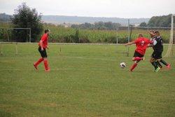 Dun/Belleray le 4 septembre 2016 perdu 4-2, malgré un 2-2 à la 75 em minute. - Football Club du Val Dunois