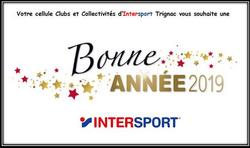 Intersport souhaite la bonne année 2019 au club fc3r - Football Club des 3 Rivières