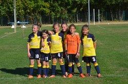 Nos petites U11 - Football Club Colombier Saint Barthèlemy