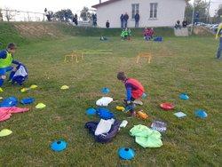 Retour en image sur l'Action P.E.F. U7 apprendre à faire son sac - F.C. Curtafond Confrançon St Martin St Didier