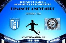 MATCH A MONTASTRUC - Le 04/11/2018 - Football Club Montastruc