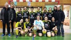 Féminines U18Séniors, Entente BBRM-FC Péageois au tournoi Futsal du BBRM - Interclubs de Football BBRM