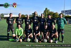 [16/09/2018] Coupe des réserves : JSAL B (D4) 0-2 ES Richemont (D3) - Jeunesse Sportive d'Ars Laquenexy
