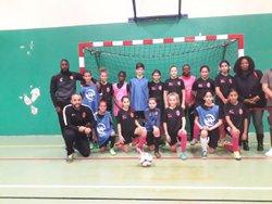 Match amical futsal mercredi 14 nov 2018 belle rencontre avec SEVRAN FUTSAL vainqueur respect plaisir AMBITION - Associazione Club Montreuil Futsal         ACM MONTREUIL FUTSAL