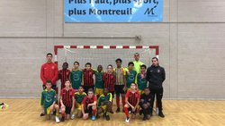 Très beau match face à aulnay futsal défaite 2-1 mais un match disputé dans un bel état d esprit bravo aux joueurs !!! 09/12/2018 - Associazione Club Montreuil Futsal         ACM MONTREUIL FUTSAL