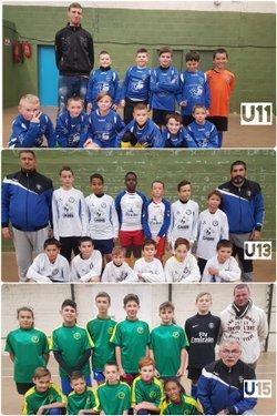 Les U11, les U13 et les U15 du SCFA - Scf Achicourt