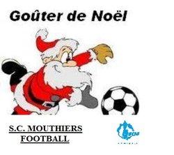 Gouter de Noël à l'Ecole de Foot - S. C. MOUTHIERS FOOTBALL