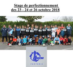 Stage des 23 - 24 et 26 octobre 2018 - S. C. MOUTHIERS FOOTBALL