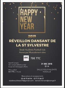 Réveillon dansant 2019 de la Saint-Sylvestre