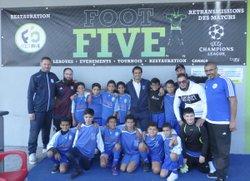 Nos U11-1 en tournoi indoor au F5 Foot Five ! - Union Générale Arménienne Lyon-Décines