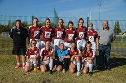 U18F . USBP-Caluire : 3-3. le 06 octobre 2018 - Union Sportive Bassin Pontévallois